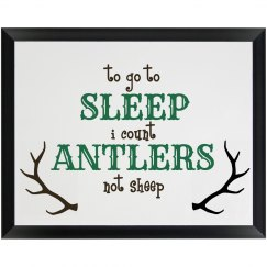 Count antlers boy