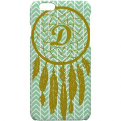 Dream Catcher Monogram Phone Cas