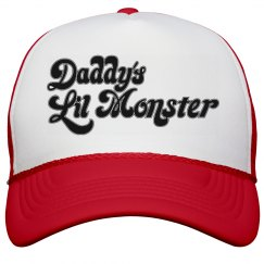 Daddy's Lil Monster Hat