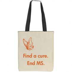 End MS tote with butterfly