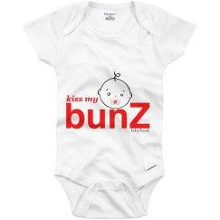 kiss my bunZ Logo Onesie