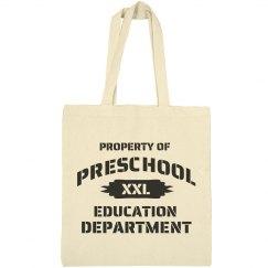 Preschool Dept.