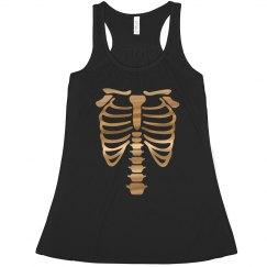 Halloween Skeleton Top