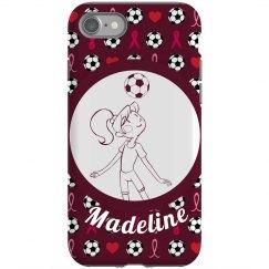 Soccer Girl Pattern