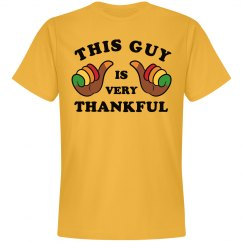This Guy Is Very Thankful