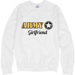 Army girlfriend crew neck
