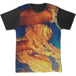 Stylish Jellyfish All Over Print