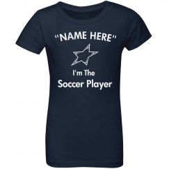 I'm the soccer player
