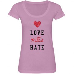 Love Kills Hate Tee