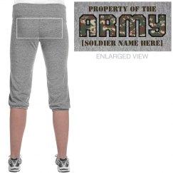 Cute Army Girl Pajamas