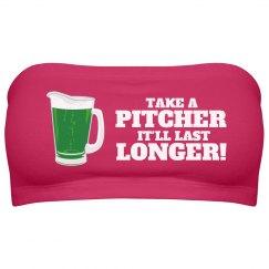 Pitcher of Green Beer Bartender