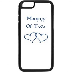 Mommy of two IPhone case