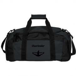 Green Cheer Duffle