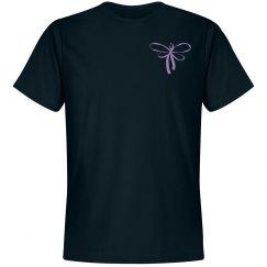 Purple Ribbon Butterfly