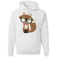 Hipster Brown Fox