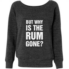 But Why Is The Rum Gone Pirate