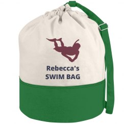 Swimming Duffel Beach Bag
