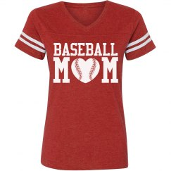A Sporty Baseball Mom Jersey