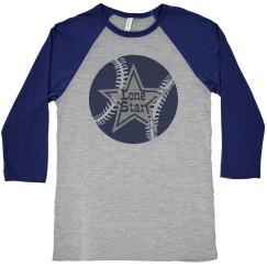 Star Baseball Raglan