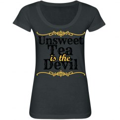 unsweet tea