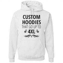 Custom Plus Size 4XL Hoodies