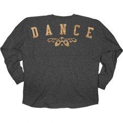 Gold Metallic Dance Jersey