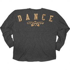 Gold Metallic Dance Jersey