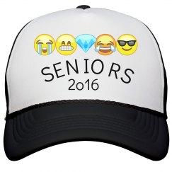 Seniors 2k16 Hat