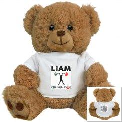 Liam's Medium Teddy Bear