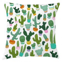Trendy Cactus All Over Print