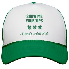 Show Me Your Tips Clover St Patricks Hats