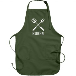 Ruben personalized apron