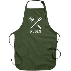 Ruben personalized apron