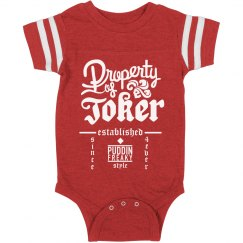 This Baby Is Property Of The Joker