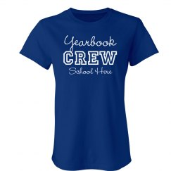 Yearbook Crew Tee