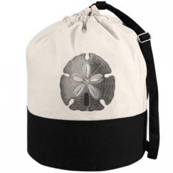 sand dollar beach bag