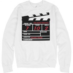 Action! Crewneck Sweater