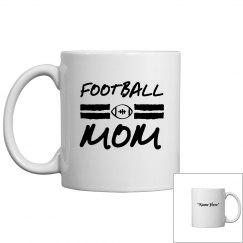 Football mom mug to personalize