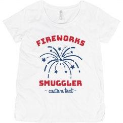 Red White & Blue Fireworks Smuggler