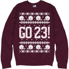 Football Number Sweater