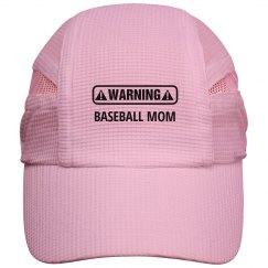Warning Baseball Mom