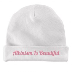Albinism Is Beautiful- Infant Hat
