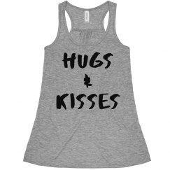 Hugs And Kisses Crop Top Tank