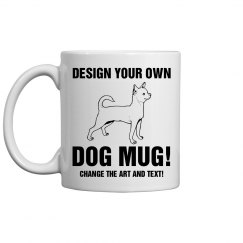 Custom Dog Gift Mug