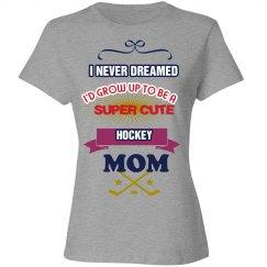 Super Cute Hockey Mom