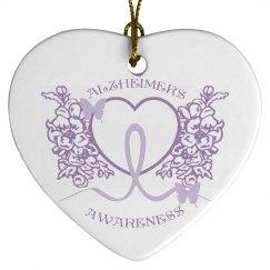 Alzheimers Awareness Ornament