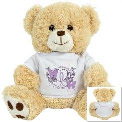 Alzheimers Awareness Tiger