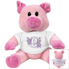 Alzheimers Awareness Pig