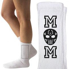 Cute Hockey Mom Socks