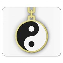Yin-Yang Pocket Watch Mousepad